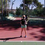 Retoma actividades tenis